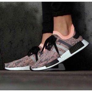 adidas Shoes - Adidas NMD R1 Pink Glitch Camo Sun Glow 6.5